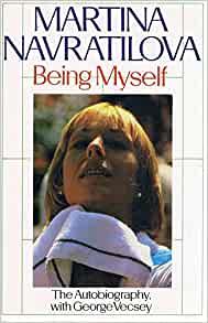 Being Myself Martina Navratilova